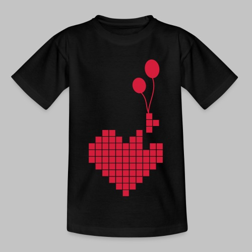 heart and balloons - Kids' T-Shirt