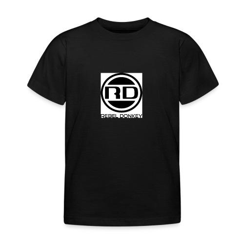 Rebel Donkey logo - Kids' T-Shirt