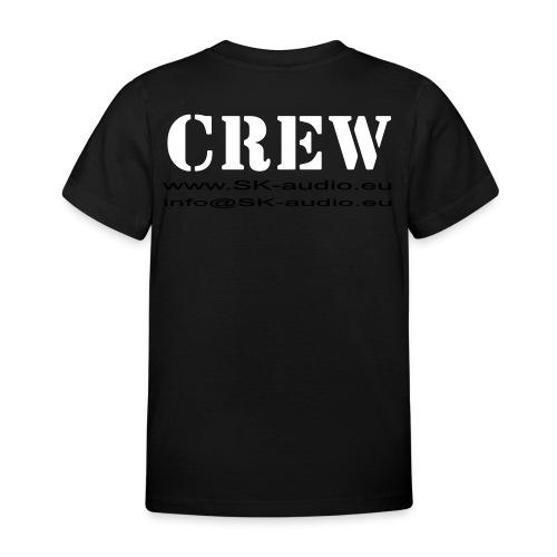 skaudio crew hintenkurve - Kinder T-Shirt