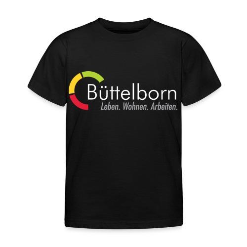 Logo Gemeinde Büttelborn inverse Darstellung - Kinder T-Shirt