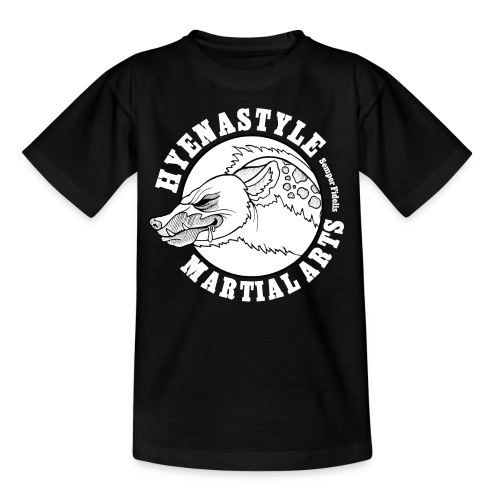 Whitelogo gif - Kinder T-Shirt