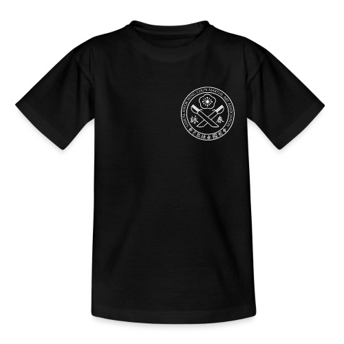 Samuel_Kwok_logo_black - Kids' T-Shirt