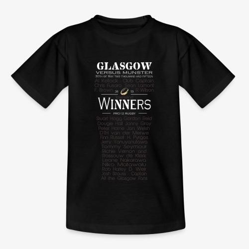 PRO12 Winners Glass - Kids' T-Shirt