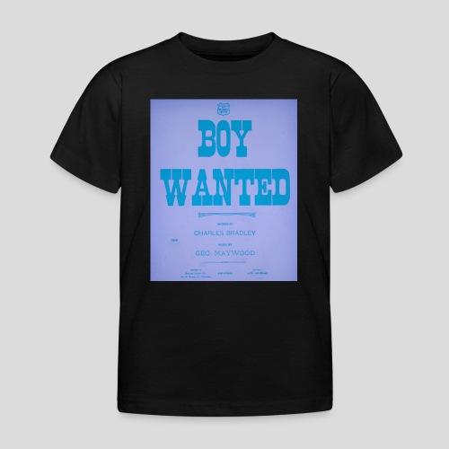 boy wanted1 4 jpg - T-shirt Enfant