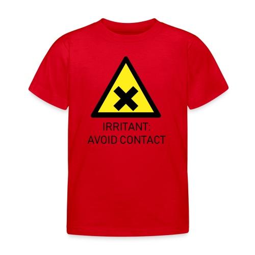 Irritant: Avoid Contact - Kids' T-Shirt