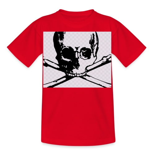 skull and crossbones - Kids' T-Shirt