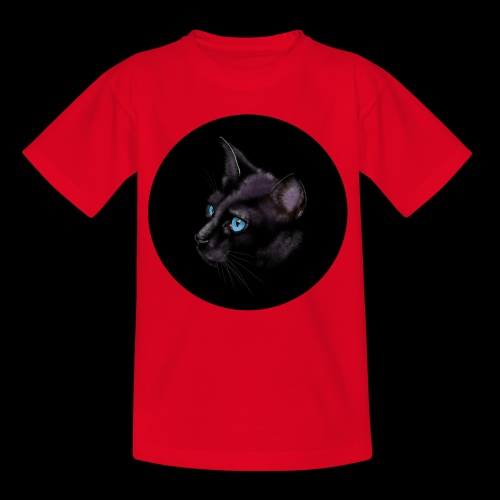 Black Cat - Kids' T-Shirt