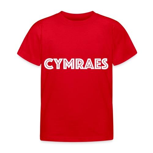 Cymraes - Kids' T-Shirt