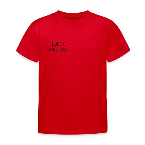 JUICY DELUXE - Kinderen T-shirt