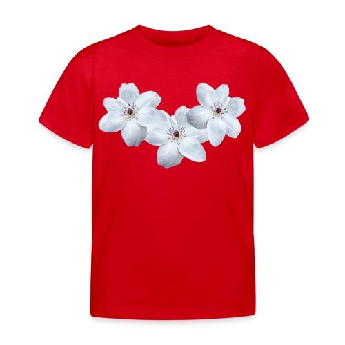 Jalokärhöt, valkoinen - Lasten t-paita
