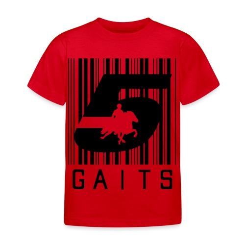 5gaitsBarcode 1 - Kids' T-Shirt