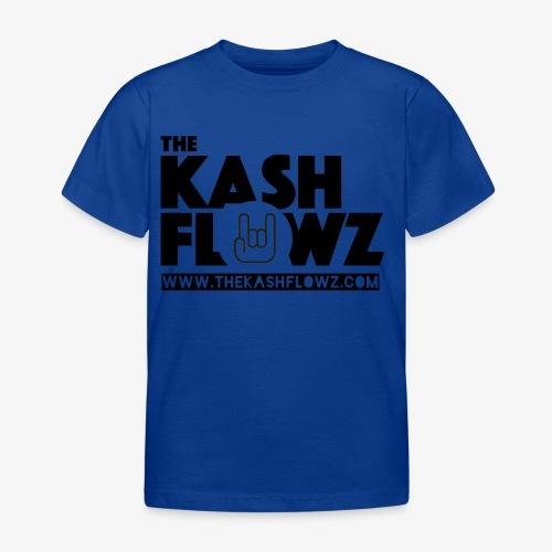 The Kash Flowz Official Web Site Black - T-shirt Enfant