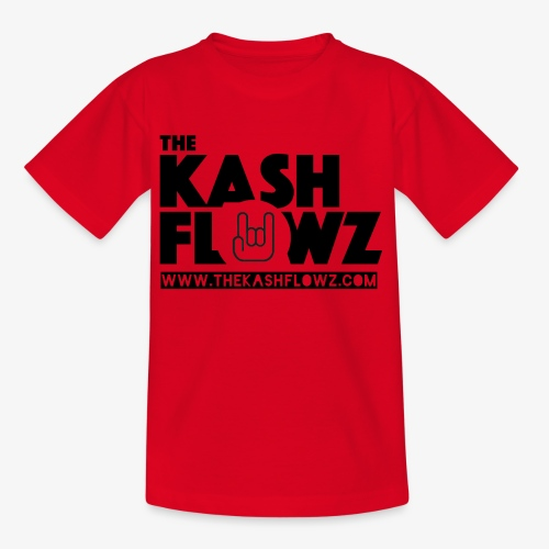 The Kash Flowz Official Web Site Black - T-shirt Enfant