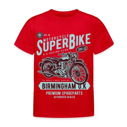 T-Shirt Moto Vintage années 50/60 - T-shirt Enfant