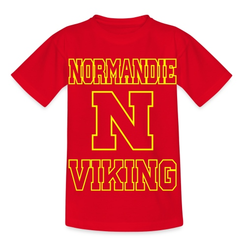 Normandie Viking Def jaune - T-shirt Enfant