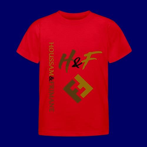 h&F luxury style - Maglietta per bambini