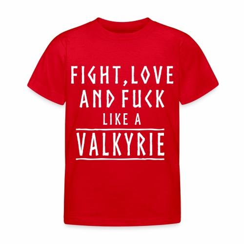 Like a valkyrie - Camiseta niño