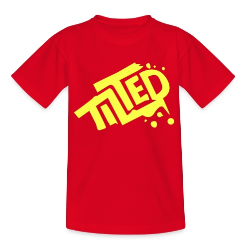 Fortnite Tilted (Yellow Logo) - Kids' T-Shirt