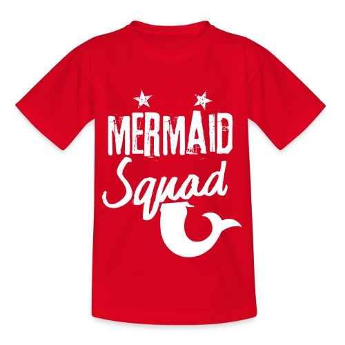 Meerjungfrau-Trupp-Kader - Kinder T-Shirt