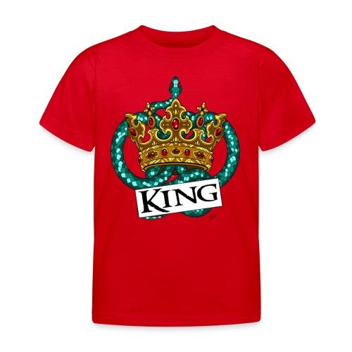 KING - Maglietta per bambini