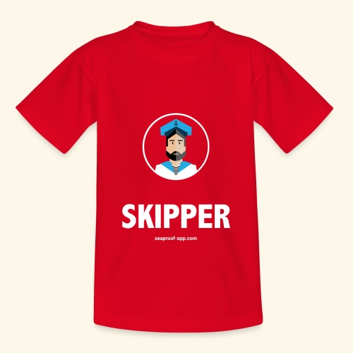 SeaProof Captain - Kinder T-Shirt