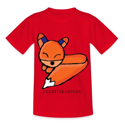 Edo le renard - T-shirt Enfant