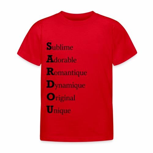 Sardou hommage - T-shirt Enfant