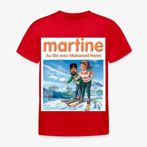 Martine-SkiAvecHenni - T-shirt Enfant