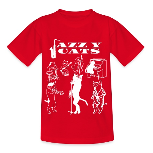 Jazzy Cats - T-shirt Enfant