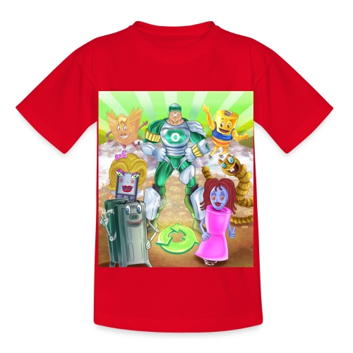 Captain Reece Icle - Kids' T-Shirt