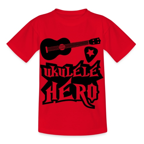 Ukelele Hero - Kids' T-Shirt