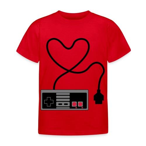 NES Controller Heart - Kids' T-Shirt