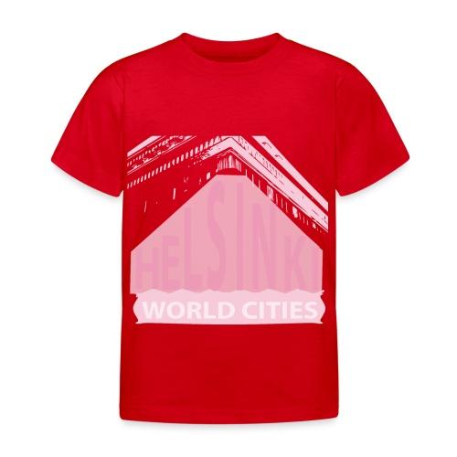 Helsinki light pink - Kids' T-Shirt