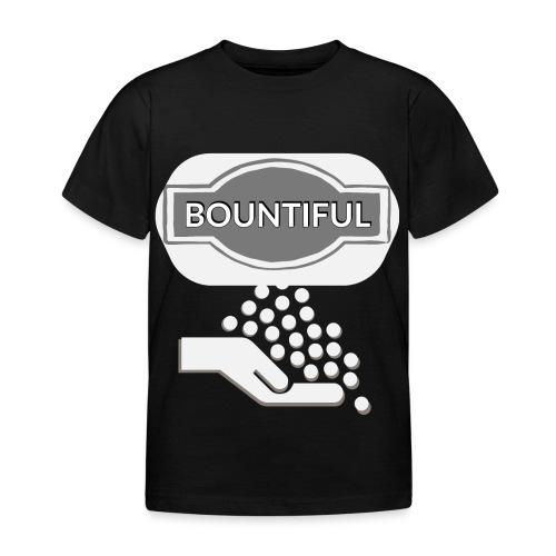 Bontiul gray white - Kids' T-Shirt