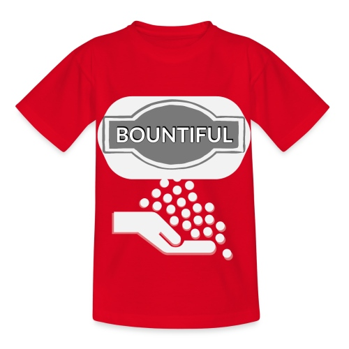 Bontiul gray white - Kids' T-Shirt