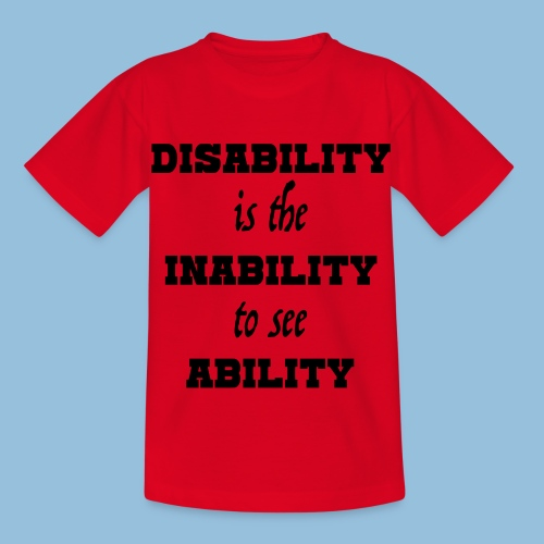 Ability4 - Kinderen T-shirt