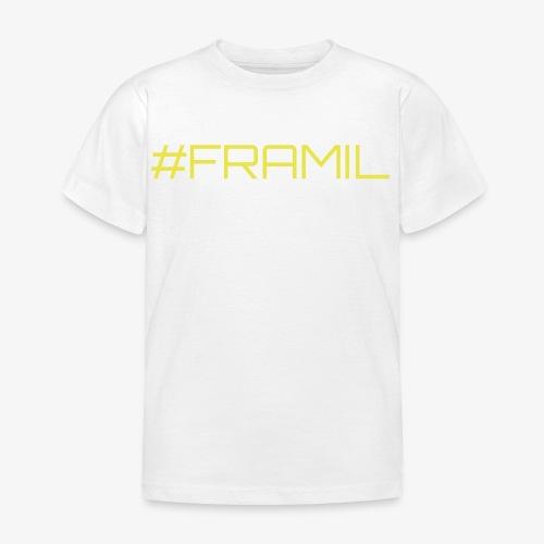 #framil - Lasten t-paita