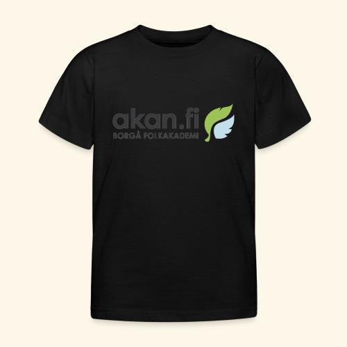 Akan Black - Lasten t-paita