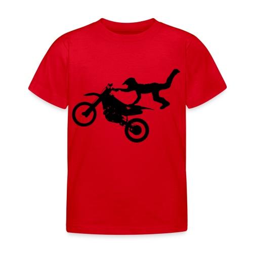 Motocross Bike Aerial Stunt - Maglietta per bambini