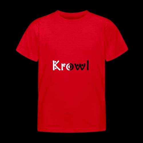 Krowl 1st Yin & Yang Design - T-shirt Enfant