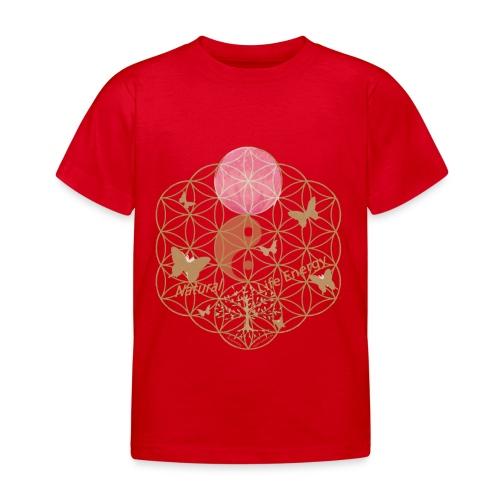Das Leben umgeben von Energie. Blume des Lebens. - Kinder T-Shirt