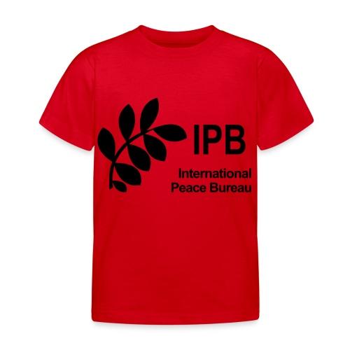 International Peace Bureau IPB Logo black - Kids' T-Shirt
