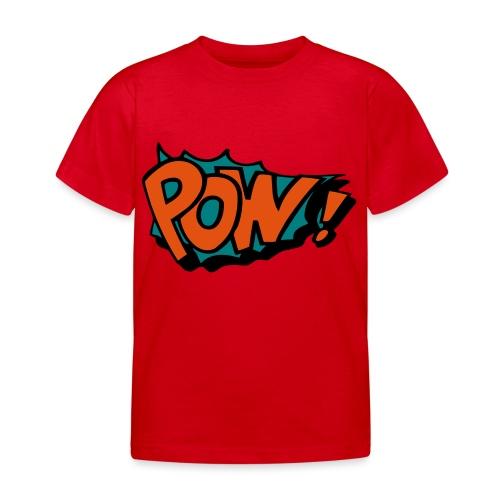 Comic pow! - Kids' T-Shirt