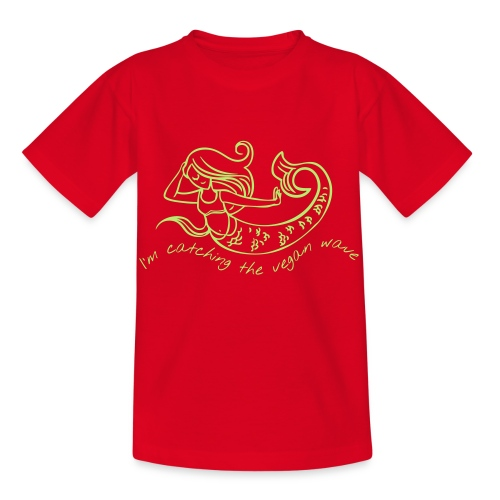 vegi.style mermaid - Kinder T-Shirt