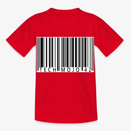 TM graphic Barcode Answer to the universe - Kids' T-Shirt