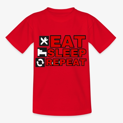 EAT SLEEP REPEAT T-SHIRT GOOD QUALITY. - Kids' T-Shirt