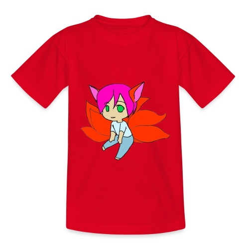 chibi mike fox - Børne-T-shirt
