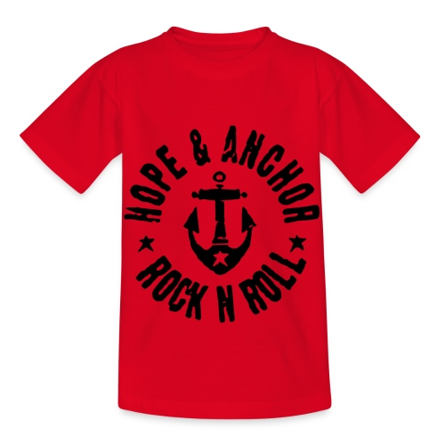 Hope & Anchor - Rock´n´Roll - Kinder T-Shirt