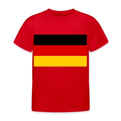 2000px Flag of Germany svg - Kinder T-Shirt