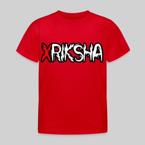 xRiksha - Lasten t-paita